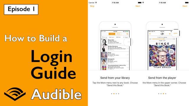 Audible Login Walkthrough | Lets Build That App