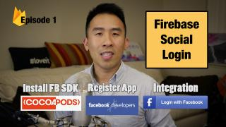Swift 3: Firebase Social Login - Facebook Authentication and