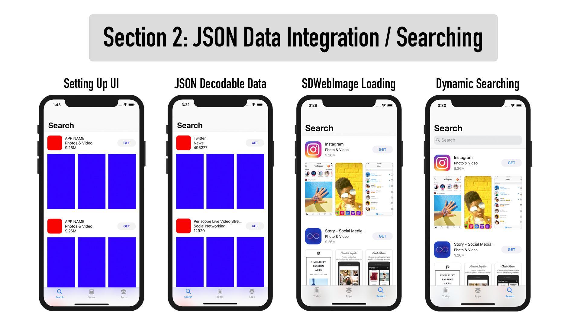 AppStore 06 - iTunes Search API JSON Fetch   Lets Build That App