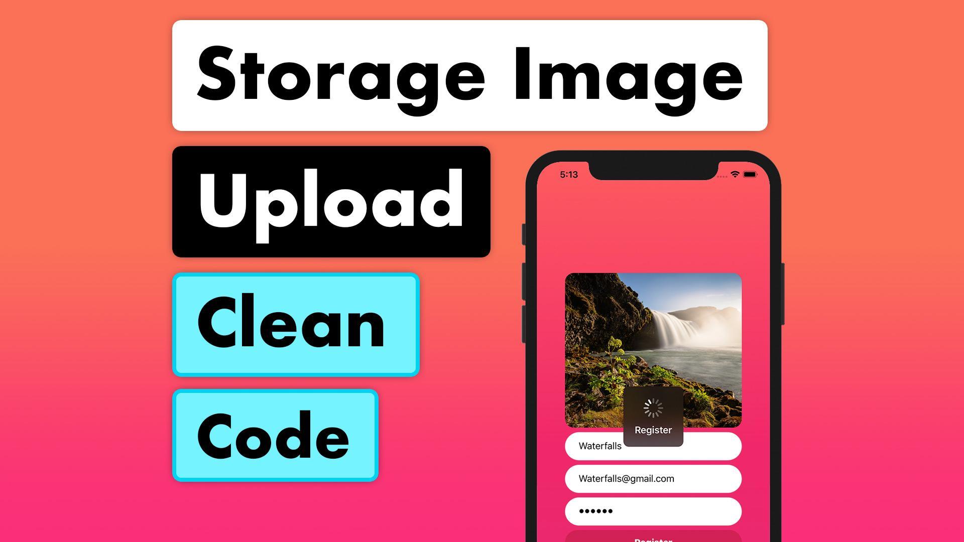 Tinder Firestore MVVM 19 - Storage Image Upload Clean Code | Lets