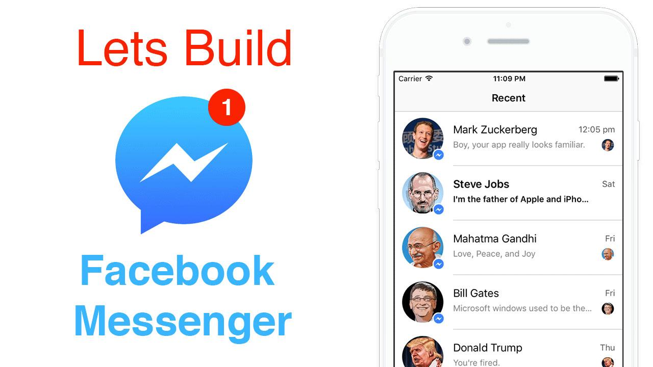 Swift: Facebook Messenger - Auto Layout Using Code or