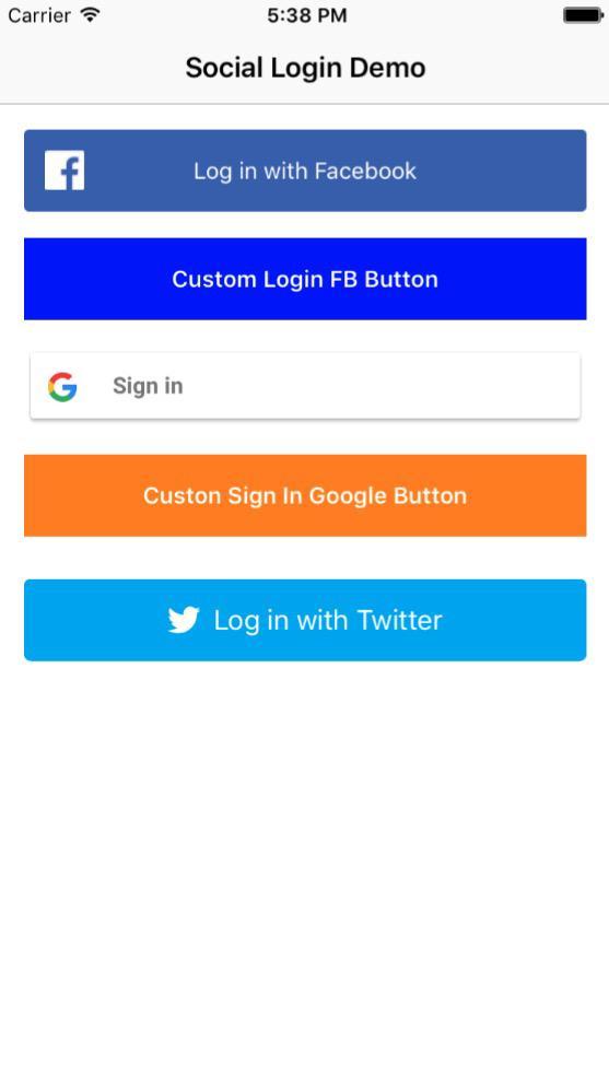 firebase social login lets build that app