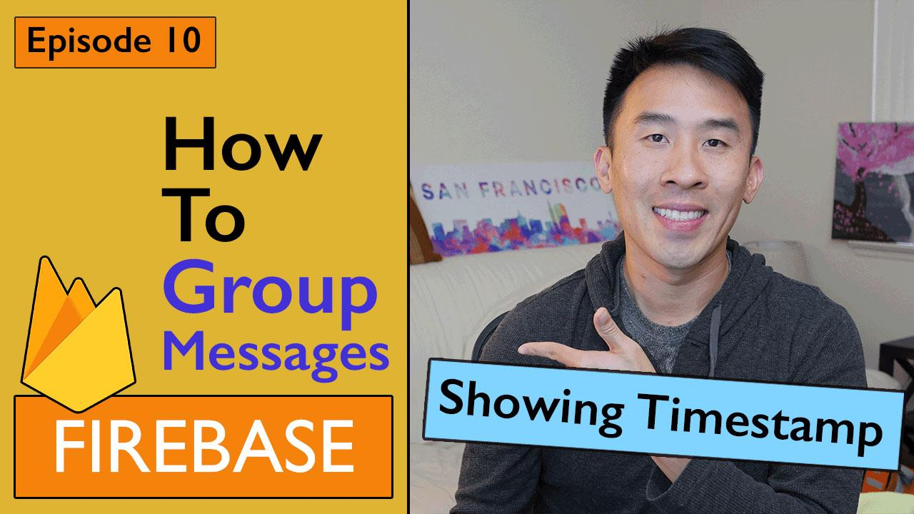 Swift: Firebase 3 - How to Group Messages Per User (Ep 10