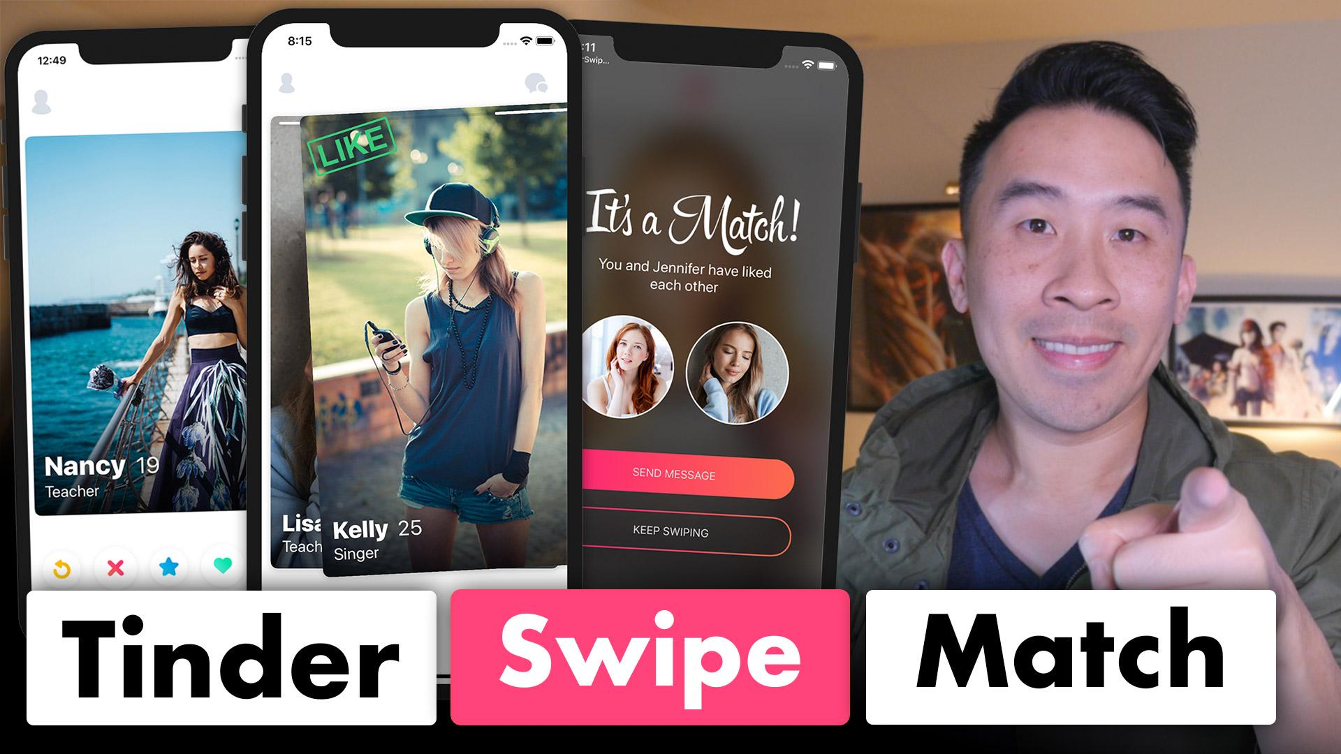 Tinder Firestore Swipe and Match | Lets Build That App