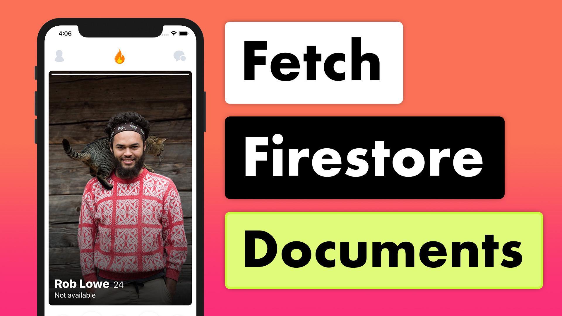 Tinder Firestore MVVM 21 - Fetch Firestore Documents | Lets Build